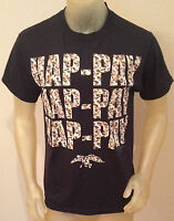 Duck Dynasty Hap-pay Camoflauge Camo Black T-shirt Mens Medium M