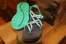 CHACO WOMEN'S SANDALS ZX/2 CLASSIC MARINA MINT SIZE 8