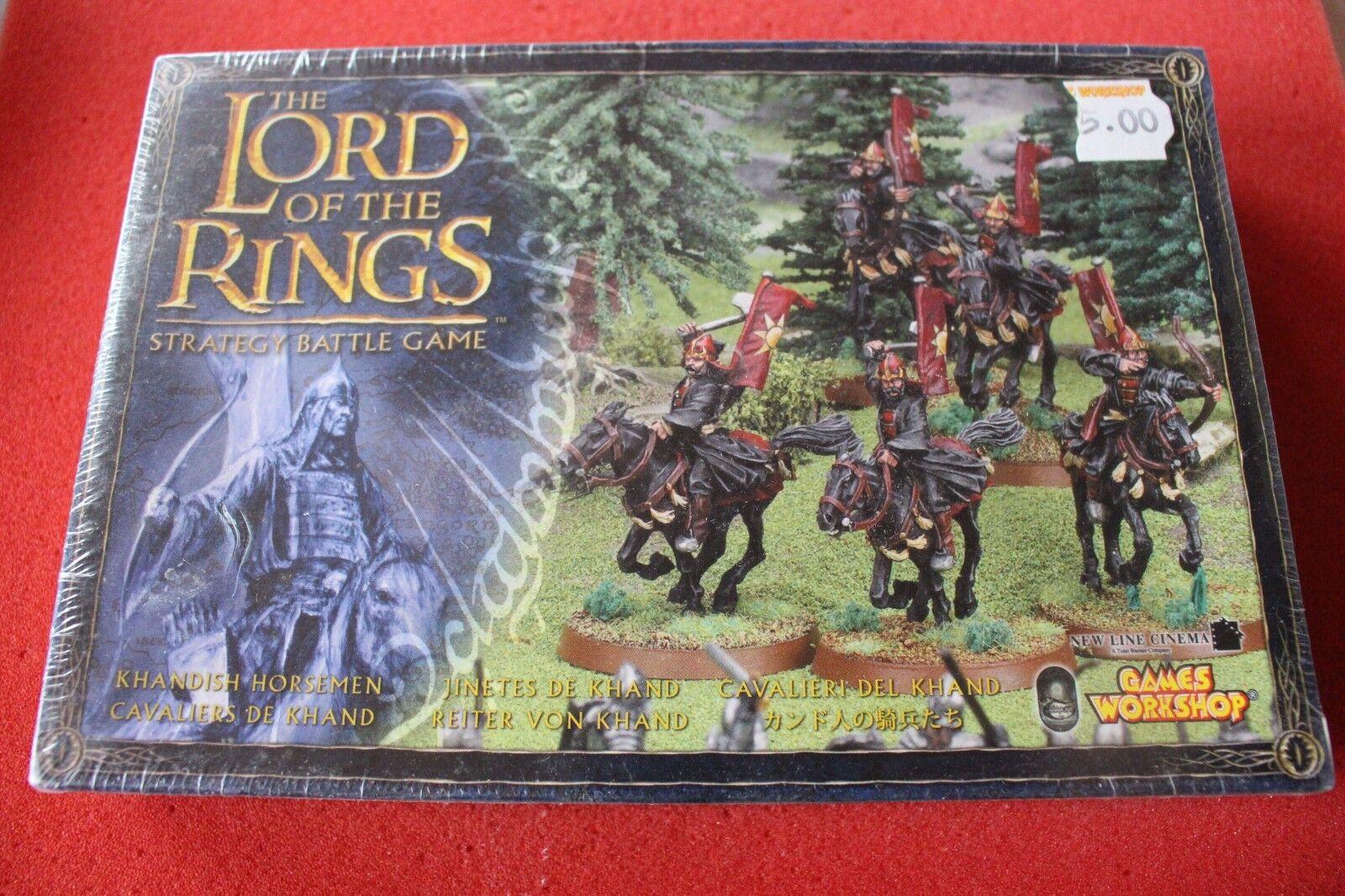 Games Workshop LoTR Khandish Horsemen Sealed Lord of the Rings New BNIB GW Metal