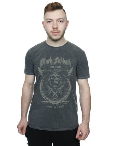 Black Sabbath Hommes la Fin de tournée mondiale Lavé T-Shirt