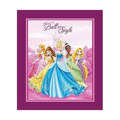 Disney Princesses My Ball My Style Panel Cotton Fabric