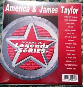 LEGENDS-KARAOKE-CDG-AMERICA-amp-JAMES-TAYLOR-OLDIES-POP-FOLK-76-16-SONGS-CD-G
