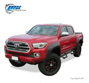 Paintable-Extension-Style-Fender-Flares-Fits-Toyota-Tacoma-2016-2019-Full-Set