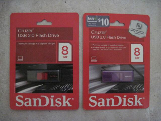 10-PACK SEALED PNY Attache 8GB Classic USB 2.0 Flash Drive BLACK P-FD8GBCLCAP-GE