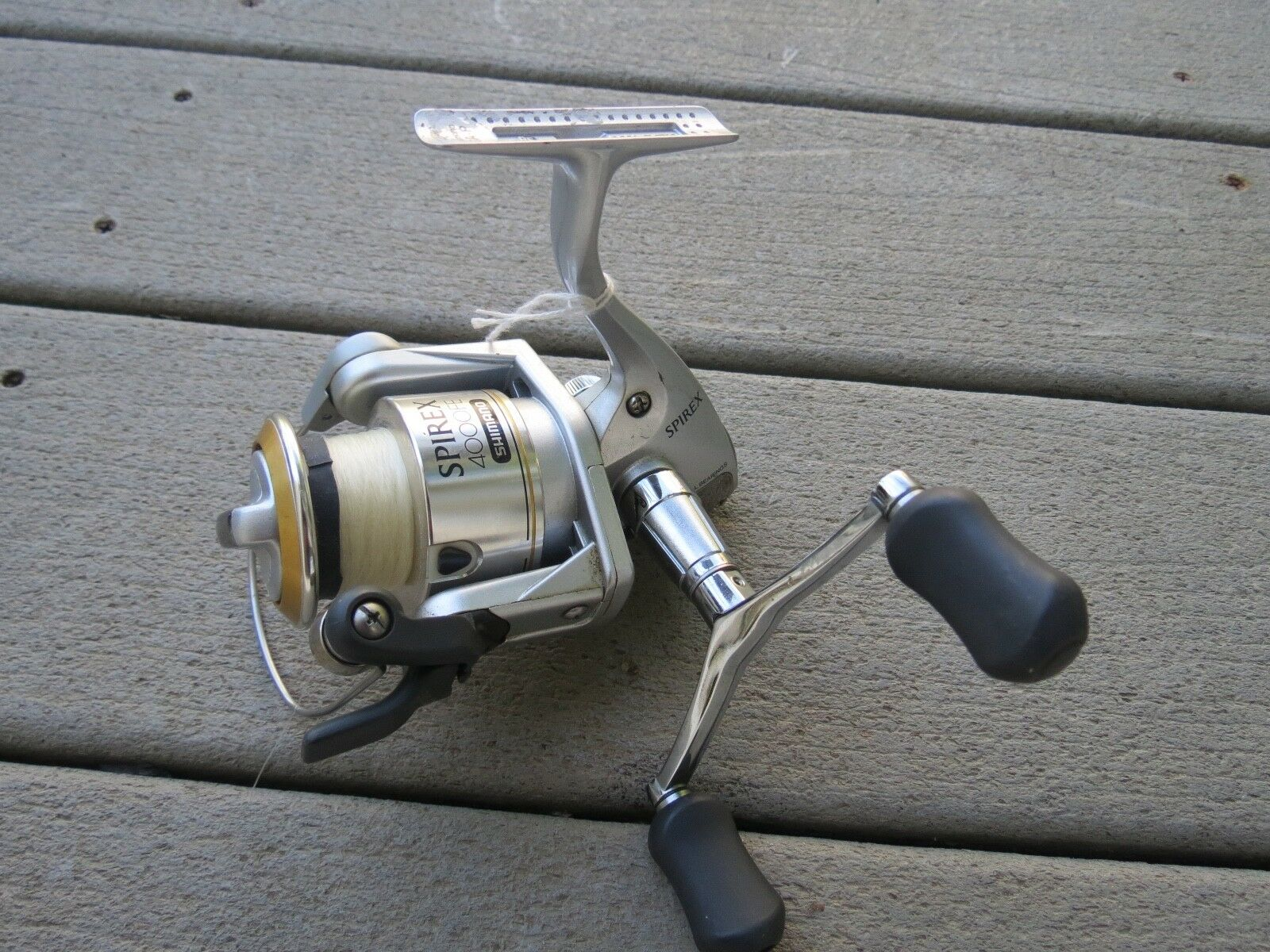 Shimano Shimano Shimano Spirex 4000FE fishing reel (lot 12627) fa6c91