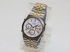 Vintage SEIKO 7A38-7289 Men's Chronograph Quartz Watch Mid 80's