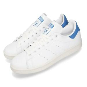 adidas-Originals-Stan-Smith-White-Blue-Men-Women-Unisex-Classic-Shoes-BD8022