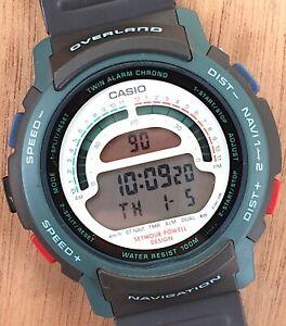 NOS-New-Casio-Overland-Navigation-944-W-900-43-5-mm-Japan-Digital-Watch