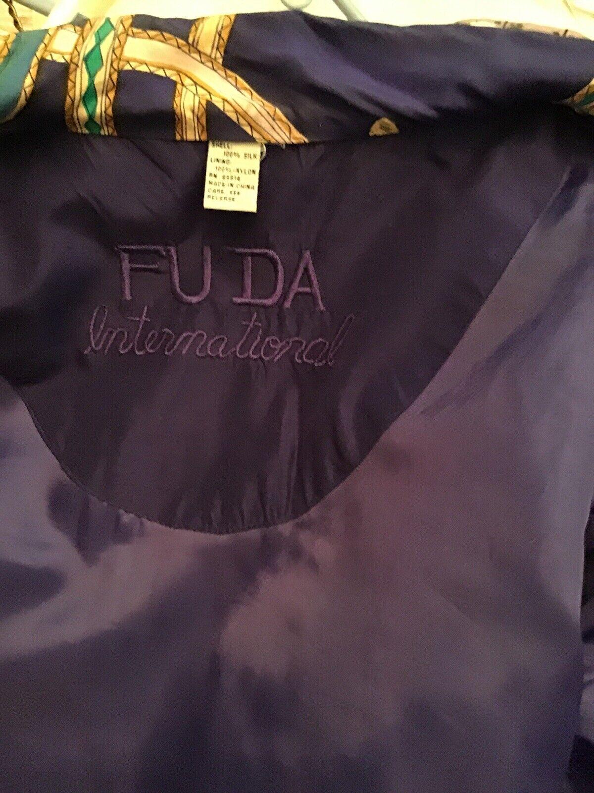 Vintage Fuda International Womens Track Suit Purp… - image 5