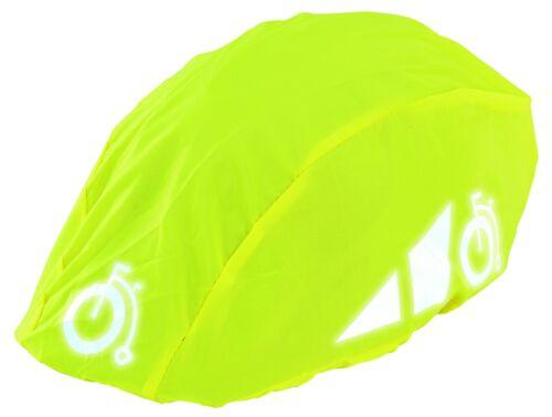 Details about  /Helmüberzug Wetterschutz Fahrradhelm prophete Regen Schutz Helm Reflexstreifen