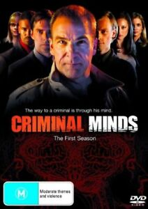 Criminal-Minds-Season-1-DVD-2007-6-Disc-Set-Mandy-Patinkin-Shemar-Moore