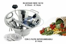 Filtro 5 mm di Ricambio Passatutto Professionale OMAC Chef Acciaio