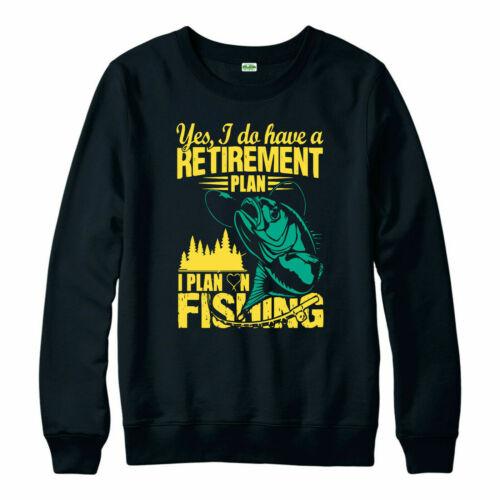 Fishing Jumper Retirement Plan Angler Fishing Angling Fisherman is Calling Top