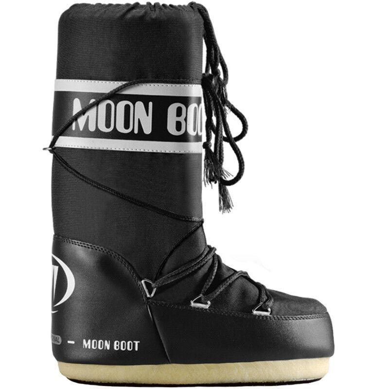 TECNICA Moonboots Moonboot Moon Boot Boots Nylon Schneestiefel Stiefel schwarz E