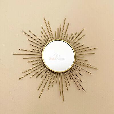 Antique Gold Small Sun Burst Frame