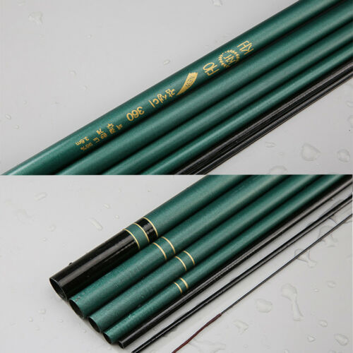7.2M Glass Fiber Spinning Hand Fishing Rod Telescopic Stream 2.7M