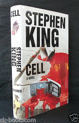 CELL Stephen King US 1st EDITION HB/DJ