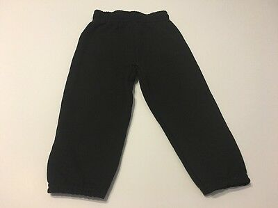 Boys Fleece Pants Black Size 4T Kids Infants Baby Children