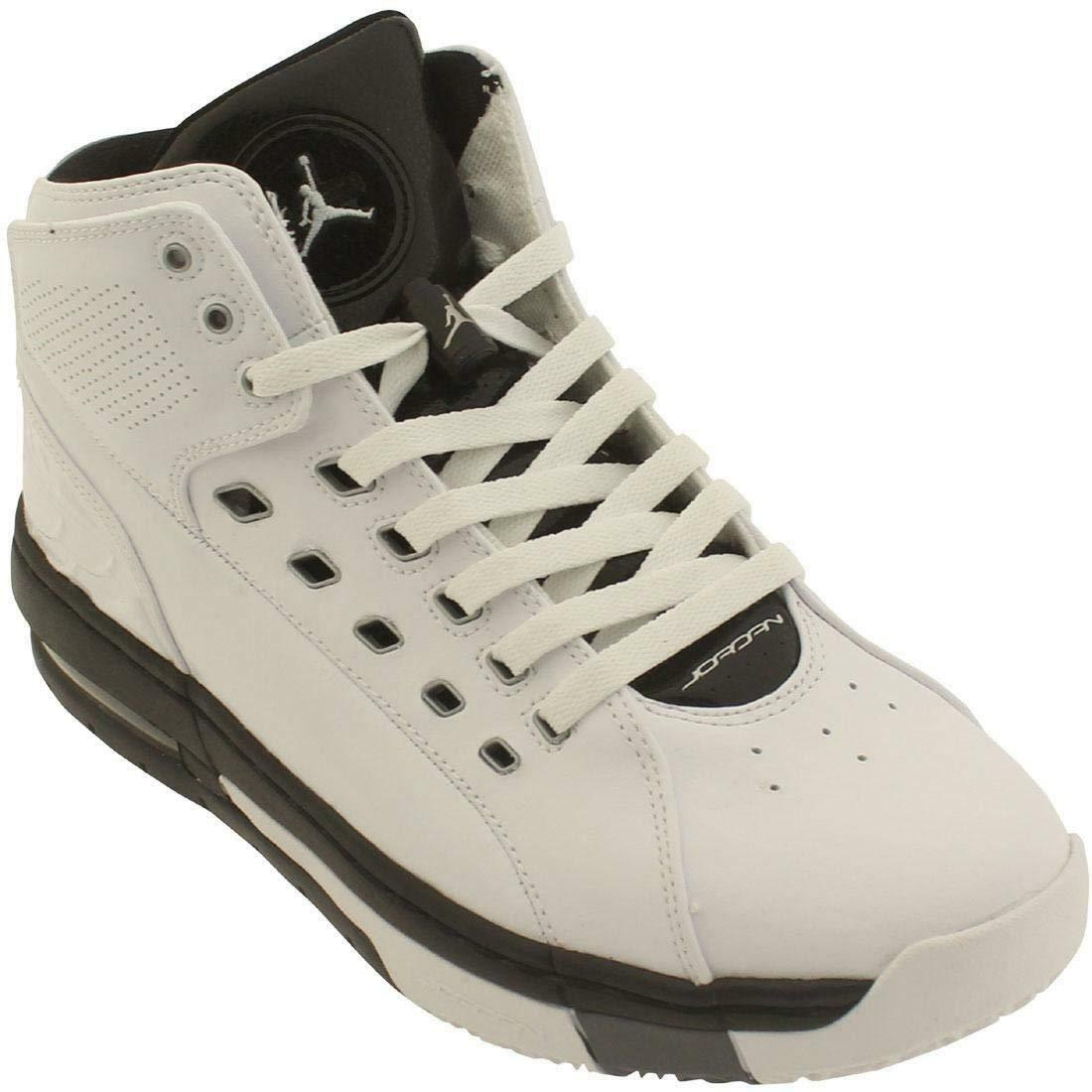 Jordan Ol'School White Metallic Silver-Black-Cool Grey (317223 113)