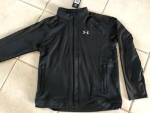 75bf773a Details about NEW MENS UNDER ARMOUR COLDGEAR FITTED RUN KNIT TRACK JACKET-  MD