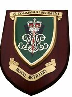 29 Commando Royal Artillery Wall Plaque UK Made for MOD Regimental