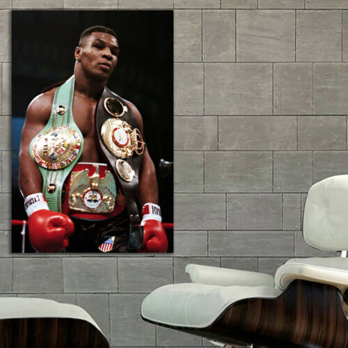 #20 Mike Tyson Boxer Boxing Sport Athlete 40x60 inch More Sizes Large Poster