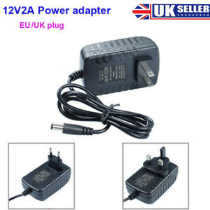 12V-2A-AC-DC-ADAPTOR-UK-POWER-SUPPLY-ADAPTER-MAINS-LED-STRIP-TRANSFORMER-CHARGER