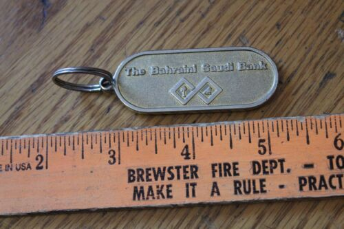 Vintage Key Chain The Bahraini Saudi Bank key ring