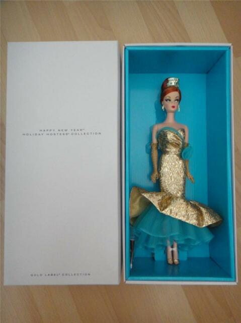 Holiday Hostess Happy New Year Barbie BFC Exclusive Limited Edition <5500 MIB