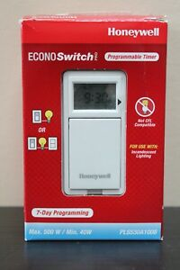 Honeywell-EconoSwitch-7-Days-Programmable-Timer-PLS530A1008