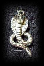 Pendentif Serpent COBRA Argent tibetain - Shiny Tibet Silver Cobra Snake Pendent