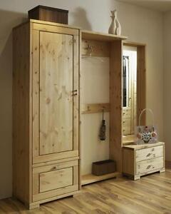 garderoben set kiefer dielen flur garderobe moebel massiv holz gelaugt. Black Bedroom Furniture Sets. Home Design Ideas