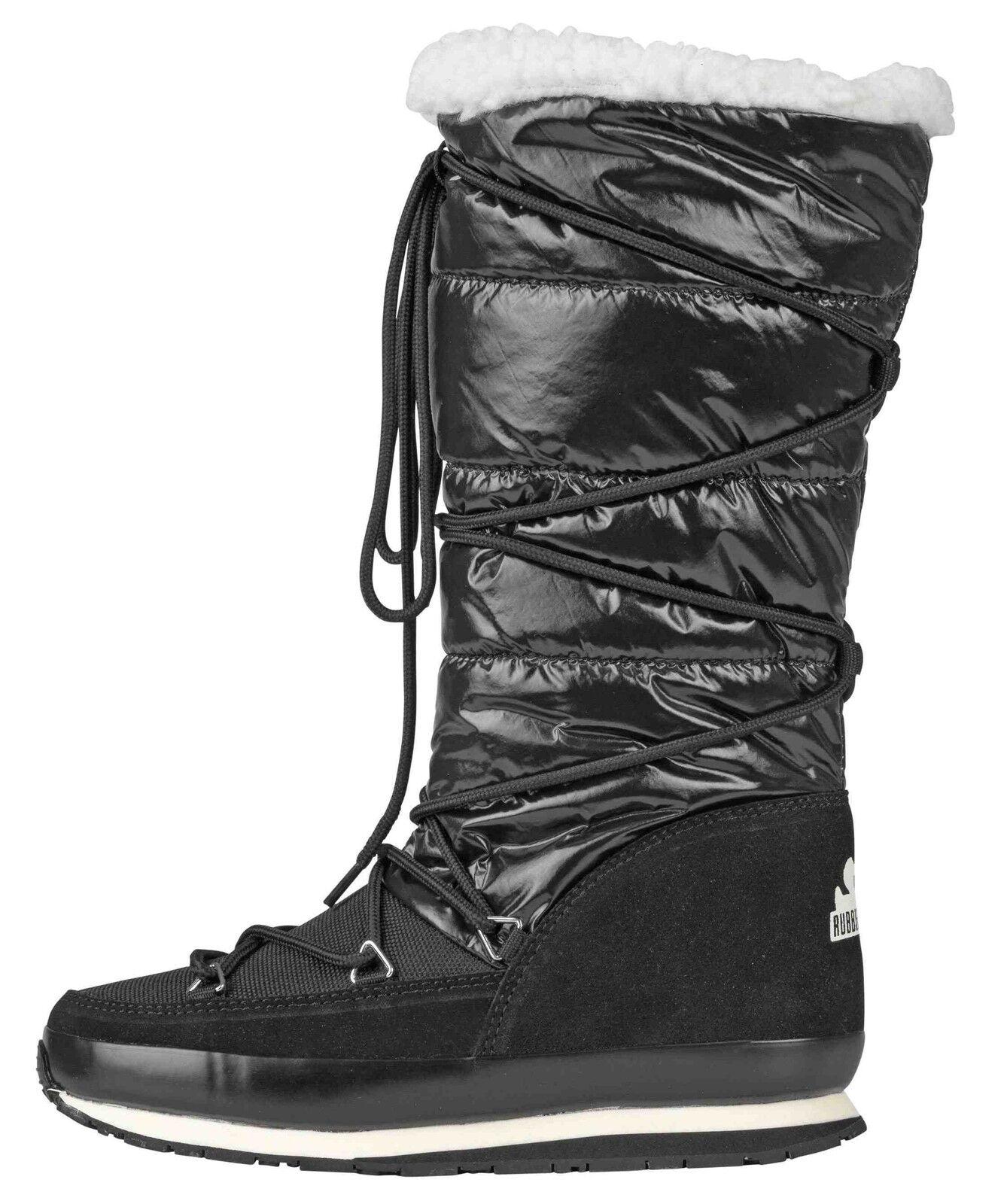 Rubber Arktischen Duck Arktischen Rubber Schnee Jogger Stiefel in Schwarz Ausverkauf 20e6a1