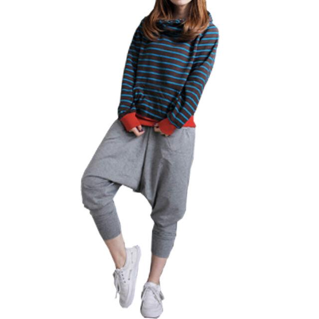 1pcs Women Men Casual Baggy Hip-hop Harem Trousers Dance Pants Couple Sweatpants