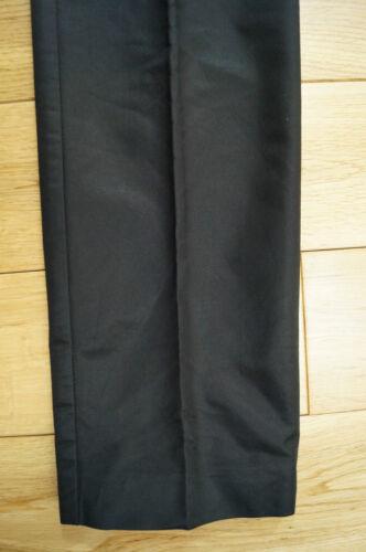noir brillant g de à 44 soirée Gabbana Uk12 en Pantalon D empiècement Dolce satin vAPnUHUwZ