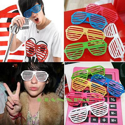Retro Fun Party Shutter Shades Glasses Novelty Club Fashion Fancy Dress Eyewear
