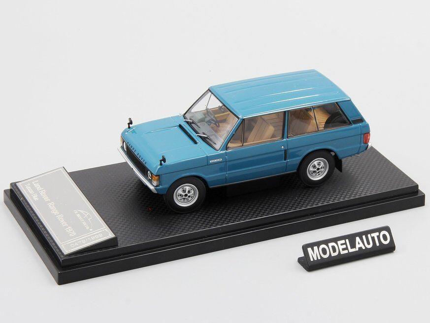 Nästan äkta 1 43 Range Rover 1970 -blå