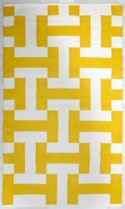 Details About C Yellow Indoor Cotton Rug Free Shipping Fab Habitat Australia
