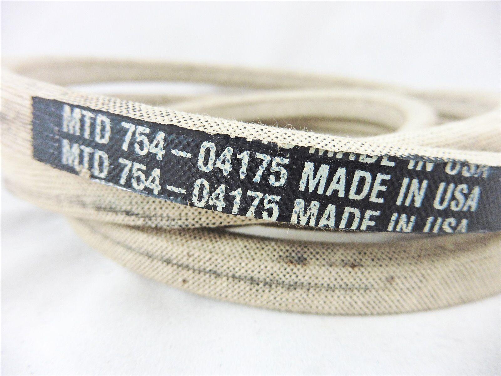 Original correas trapezoidales EFGC MTD Gutbrod cub Cadet 754-04175 sechskantiger Correa