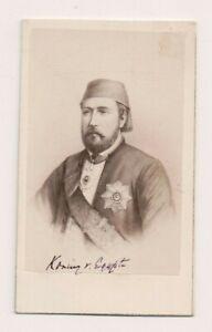 Vintage-CDV-Khedive-of-Egypt-E-Neurdein-Photo