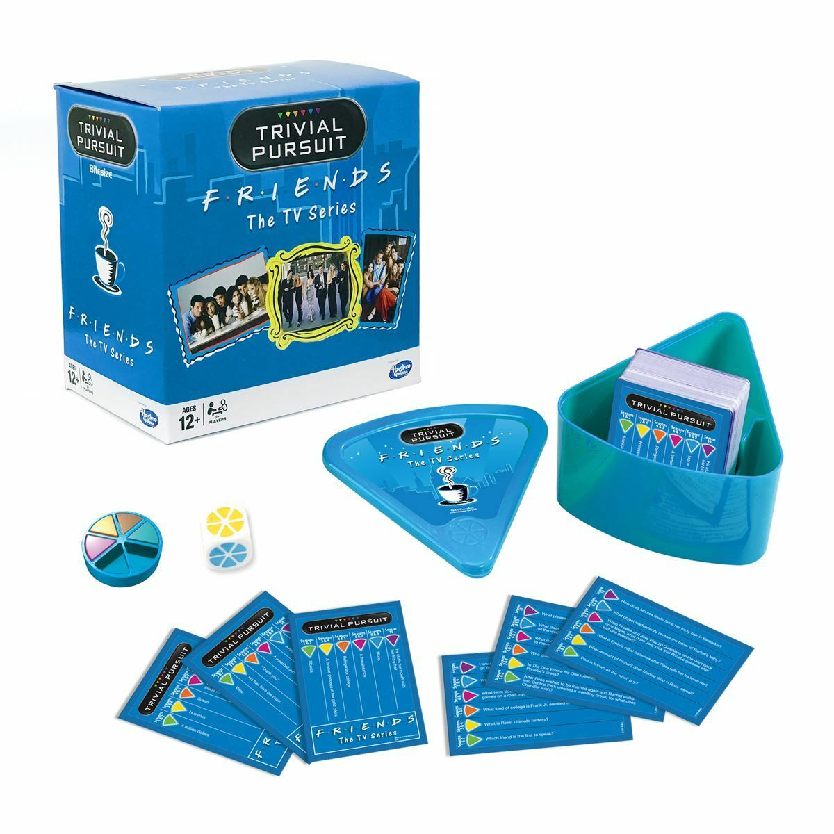 FRIENDS The TV Series TRIVIAL PURSUIT Family Game Winning Moves Official