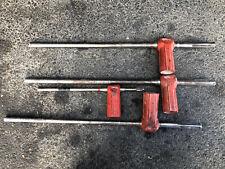Lot Of 4 Hilti Te Yd Hollow Hammer Drill Bits Carbide Tip 3 Sds Max 1 Plus