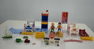 playmobil-Boy-And-Girl-Bedroom-Set-5333-Doll-House-Furniture