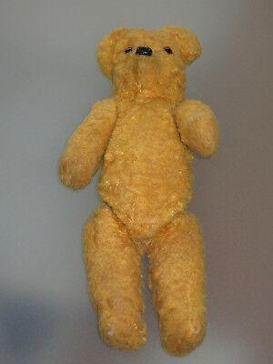 Gelernt Sehr Alter Teddybär In Sehr Gutem Zustand, Hartgestopft, Stofftier, Antik, Teddy Taille Und Sehnen StäRken