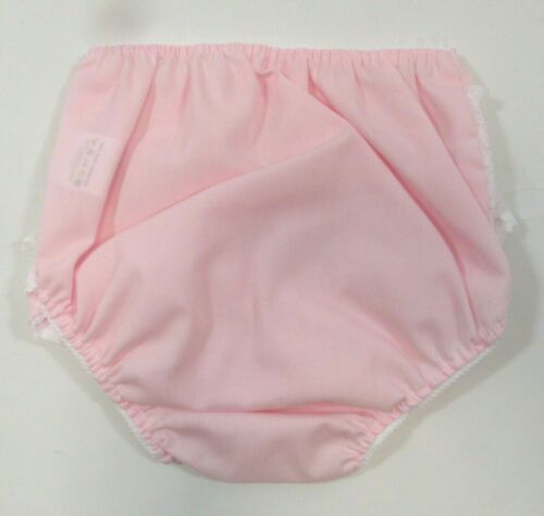 Baby Infant Clothes Girl Girls Cream Frilly Elasticated Pants Knickers Bow Frill