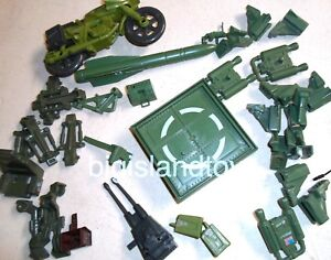MULTI-LISTING GI Joe A Real American Hero 1988 Vehicle /& Playset Parts