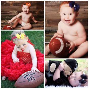 Baby or Newborn Girls Dressy Girls Headband Bow Band U PICK Blessing Christening