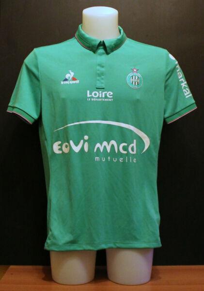 Asse Saint Etienne Le Coq Sportif Home Shirt Pro Player Issue 2016 2017 L Bnwt