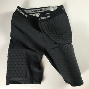 McDavid-Padded-Shorts-Large-28-034-Actual-Waist-Stretch-Compression-Hex-Football