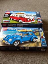 Lego Creator EXPERT 10252 Volkswagen Beetle, And 10220 Camper New And Sealed